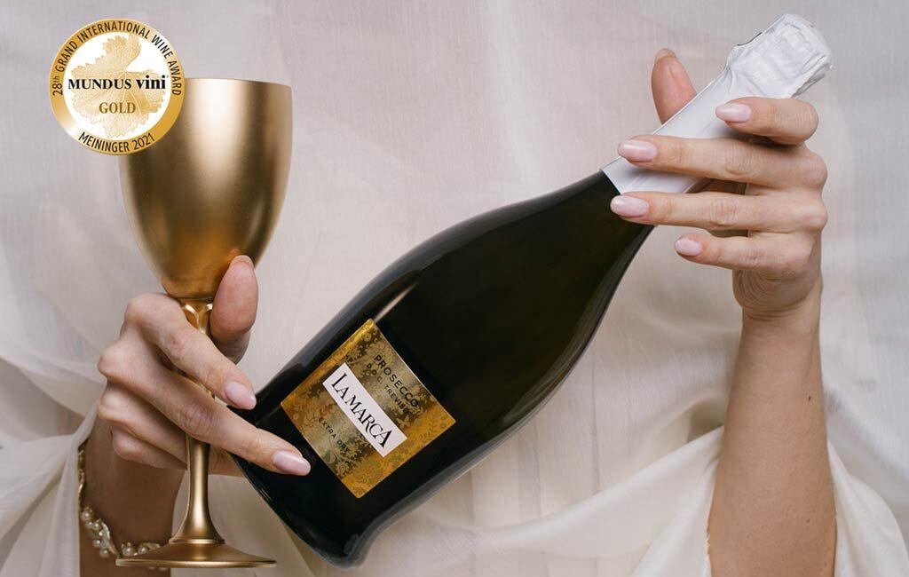 Medaglia d'Oro Mundus Vini 2021 Prosecco La Marca
